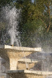 Stone fountain with dripping water Royalty Free Stock Photo