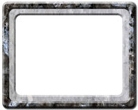 Stone frame 2 Royalty Free Stock Photos