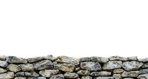 Stone Frame. On white background Stock Images