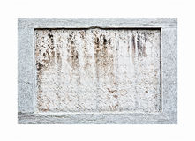 Stone frame Royalty Free Stock Photography