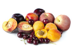 Stone Fruits Stock Photo