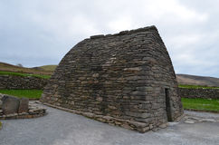 Stone Gallarus Oratory in Ireland Royalty Free Stock Photos