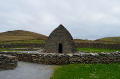 Stone Gallarus Oratory in Ireland Stock Image