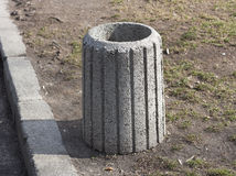 Free Stone Garbage Trash Container Refuse Bin Royalty Free Stock Photos - 51485748