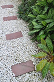 Stone garden Stock Image