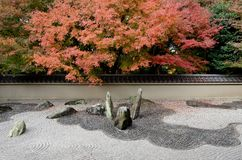 Stone garden Stock Images