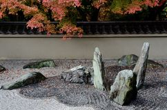 Stone garden Royalty Free Stock Photography