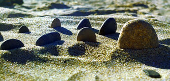 Stone Garden Royalty Free Stock Images