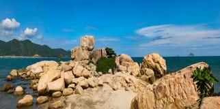 Stone garden Hon Chong Royalty Free Stock Image