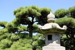 Stone garden lantern Stock Photo