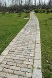 Stone Garden Path Royalty Free Stock Photography