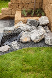 Stone garden Royalty Free Stock Photography
