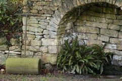 Stone Garden Roller Stock Photos