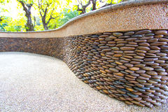 Stone. In the garden, thailand Stock Image
