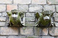 Stone gargoyle Royalty Free Stock Images