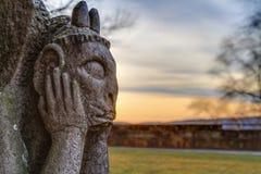 Stone Gargoyle Royalty Free Stock Image
