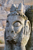 Stone Gargoyle Stock Photography