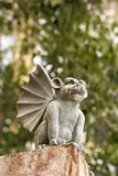 Stone gargoyle statue. Stock Photo