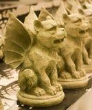 Stone Gargoyles Royalty Free Stock Image