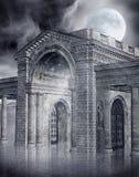 Stone gate Stock Photography