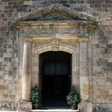 Stone gate Royalty Free Stock Images