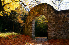 Stone Gate Royalty Free Stock Photography