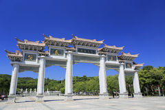 Stone gate of fantiansi temple,amoy city,china Stock Image