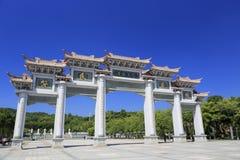 Stone gate of fantiansi temple,amoy city,china Stock Image
