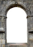 Stone gate. With space for your text Stock Photo