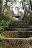 Stone gate: Xigang gate. The stone steps lead to the stone gate -- the Xigang gate Stock Image