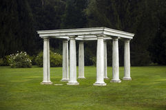 Stone gazebo Royalty Free Stock Photos