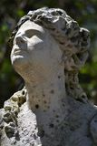 Italian Renaissance female statue at Vizcaya. Stock Image