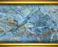 Stone and gold background Royalty Free Stock Photo