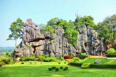 Stone graden. Stone Sculpture Garden from thailand Stock Photos