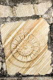Stone Grains and Carving Royalty Free Stock Photo