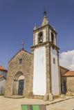 A stone granite church in Portugal Stock Image
