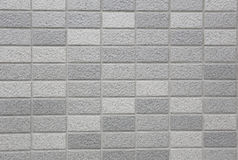 Stone granite pieces of tiles wall. Royalty Free Stock Image