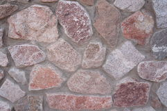 Stone granite wall Royalty Free Stock Image