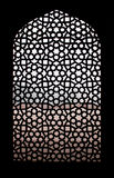 Stone grating at Humayun`s Tomb in New Delhi, India Royalty Free Stock Photography