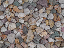 Stone gravel background, texture Stock Images