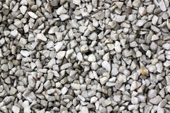 Stone of gravel on the walkway in garden. Stock Photography