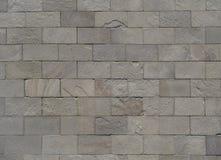 Stone grey bricks stock photography