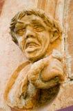 Stone Grotesque. A stone grotesque adorns the entrance to the Adelaide gaol Stock Photos