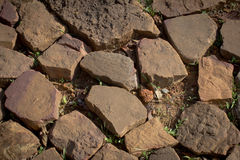 Stone ground. For texture Royalty Free Stock Photos