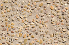 Stone ground background Royalty Free Stock Photography