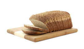 Stone ground wheat bread loaf Royalty Free Stock Photos