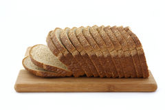 Stone ground whole wheat bread loaf Stock Photography