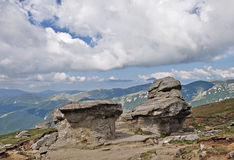 Stone group in Bucegi Mountains Royalty Free Stock Photography