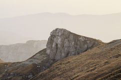 Stone group in Bucegi Mountains Royalty Free Stock Images