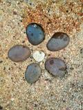 Stone Group. Six stone group stock image